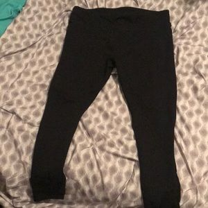 Fabletics black mesh leggings